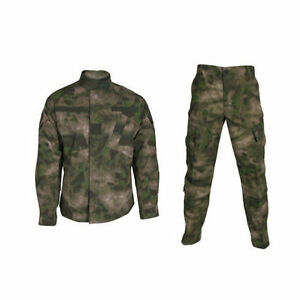 New-A-TACS-FG-Military-Camo-Camouflage-Suit-Airsoft-Uniform-Sets-Jacket-Pant