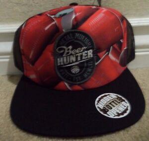 a29f1cdeab2 METAL MULISHA RUN CAP HAT SNAPBACK BLACK HIDDEN BOTTLE OPENER RED ...