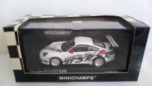 PORSCHE 911 GT3 RSR 2003 PRESENTATION MINICHAMPS SCALA 1/43