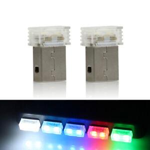 Mini-Usb-Led-Luce-Night-Lampada-Atmosfera-Wireless-Auto-Luce-Lampada-Da-Ter-K4M8
