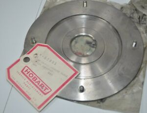 Hobart-Cap-Gasket-Holding-Plate-amp-Pin-Part-M-82851-New-Old-Stock-Vintage-Part