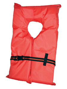 Type-II-Orange-Life-Jacket-Vest-PFD-Adult-Universal-US-Coast-Guard-Approved