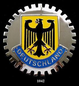 GERMAN GRILLE BADGES - DEUTSCHLAND(EAGLE) | eBay