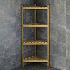 shelf shelving for full chrome wooden image solid tall wood with size corner amazing wall shelves small unit oak