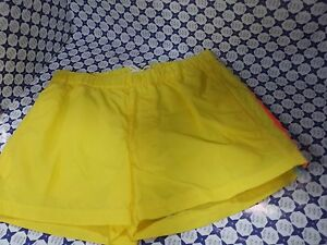 Costume Boxer SUNDEK-Waist con bottoni Giallo-Mare Piscina-M520BDT453- S/M/L/XL