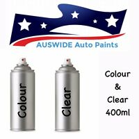 Nissan Touch Up Spray Paint B Two Tone Color Combination - 1w3 /b + Clear