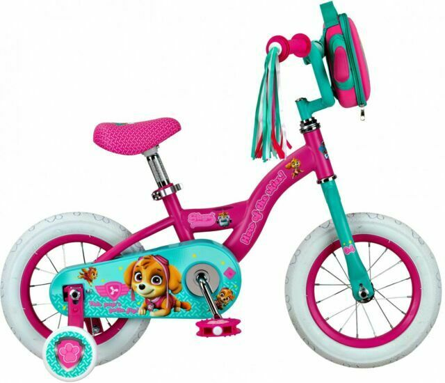 Nickelodeon 12 Paw Patrol Skye Bike Pink Ages 2 To 4 For Sale