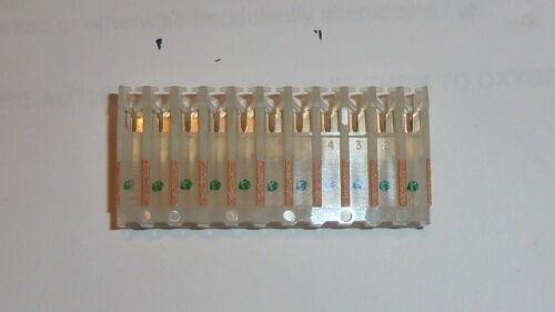 50PCS PANDUIT CT156F18-11-L par Connecteur 3.96 mm 300 V Air Conditionné//courant continu 18AWG 11 contact