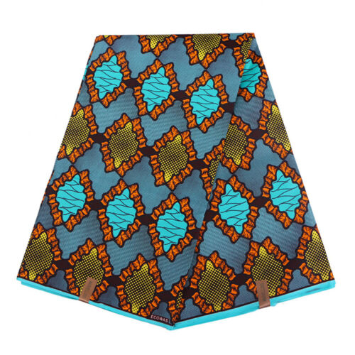 DIY African Fabric Wax Sewing Accessories for Clothes Bags Handmade Craft Gift