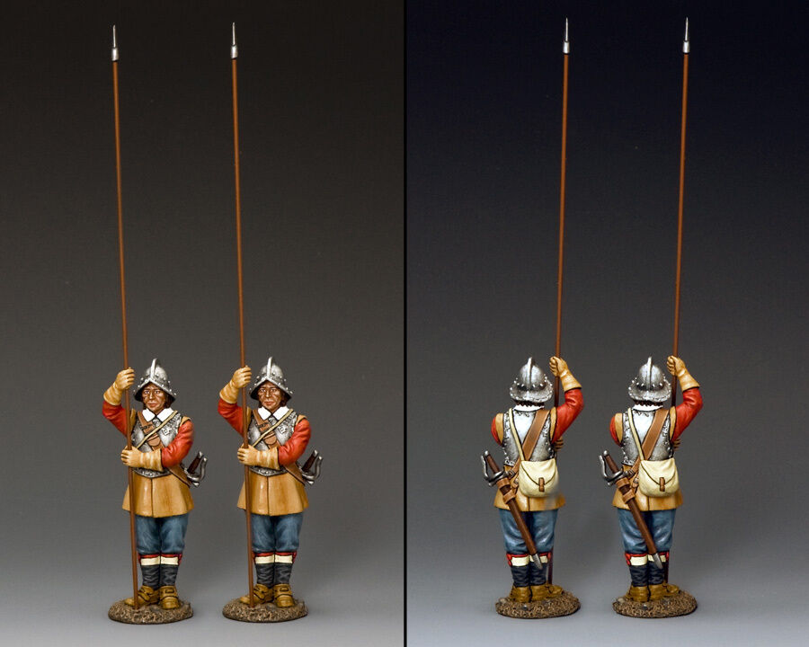 "KING AND COUNTRY English Civil War ""Two Standing Pikemen"" PnM-S03"