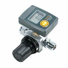 Digital HVLP Spray Gun Air Regulator with Pressure Gauge and Diaphragm Control
