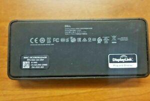 Universal Dell D1000 USB 3.0 Dual Video Docking Station 0JCJWD JCJWD  USB