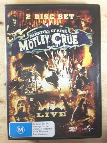 1 of 1 - Motley Crue DVD - Carnival Of Sins - Live (2-Disc Set)