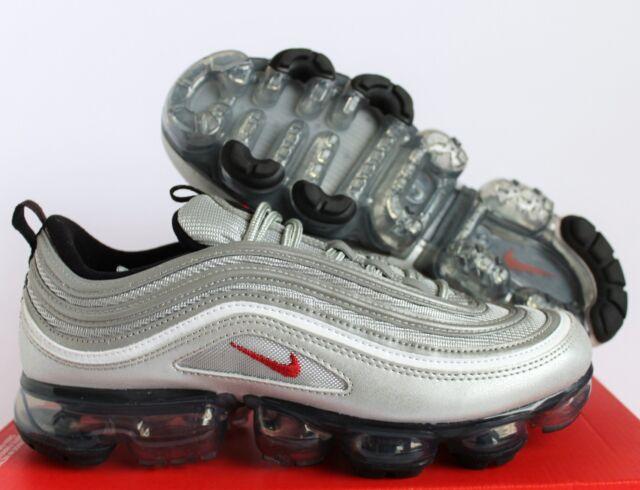 finest selection 96cd6 85ef0 Nike Air Vapormax 97 Silver Bullet Mens Size 12 Metallic Aj7291-002