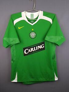 4-4-5-Celtic-jersey-small-2005-2006-away-shirt-soccer-football-Nike-ig93