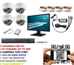 Complete-HD-CCTV-4-Camera-Surveillance-Kit-with-Monitor
