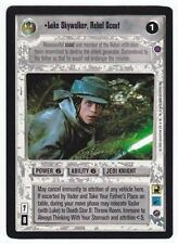 SWCCG Star Wars CCG • Luke Skywalker Rebel Scout Jedi • REFLECTION II 2 • RARE