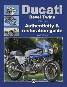 Ducati-Bevel-Twins-1971-1986-750-860-GT-900-SS-Mille-Ian-Falloon-Author-signed