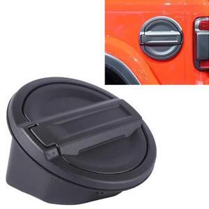 For 2018 JEEP Wrangler JL Fuel Filler Door Gas Tank Cap Lid Cover Accessories