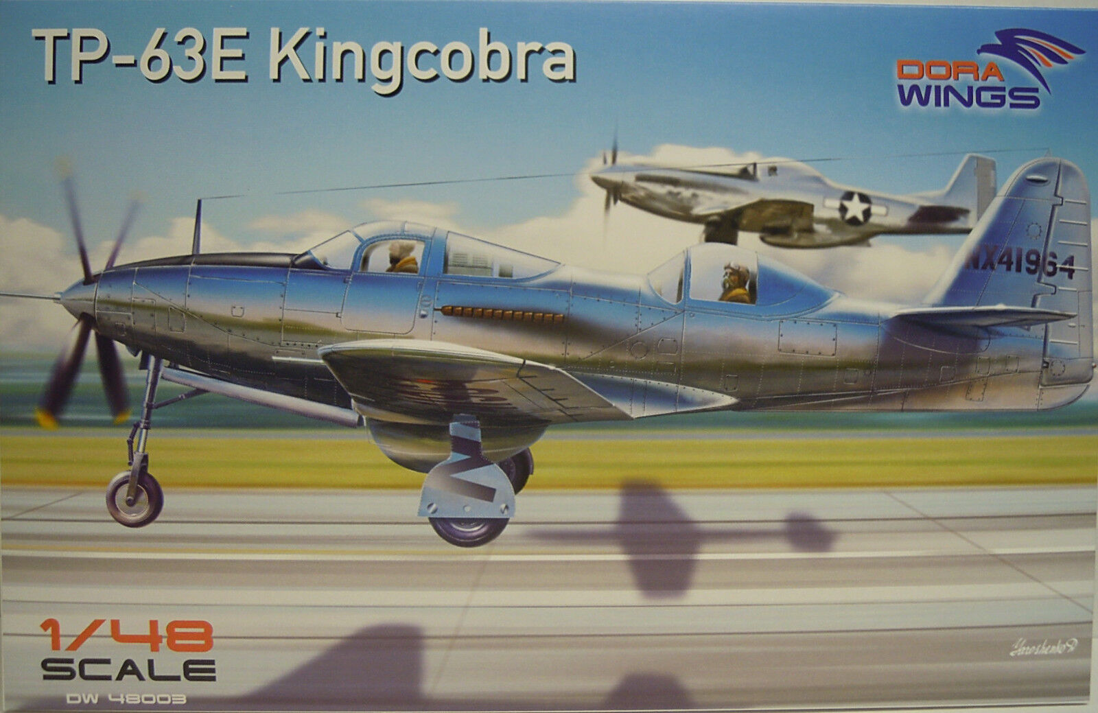 TP-63 E Kingcobra, Dora Wings, Plastic, 1 48, Decal, Etched Parts, Novelty