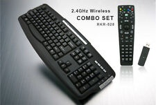 DSI RKR-528 WIRELESS HTPC MCE MULTIMEDIA KEYBOARD W/ REMOTE