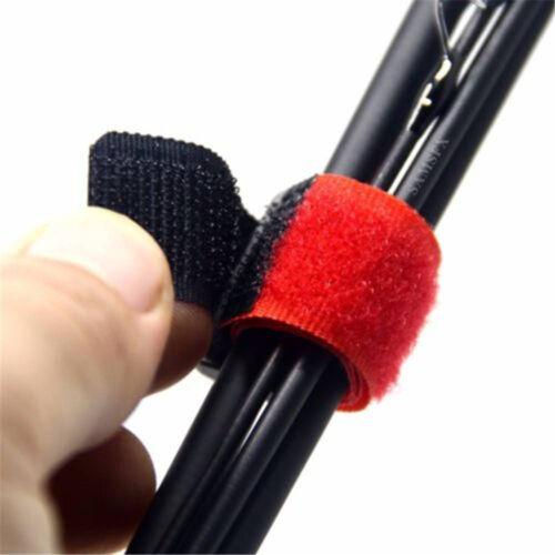 Non-slip Reusable Belt Outdoor Fastener Fishing Rod Tie Fishing Accessories