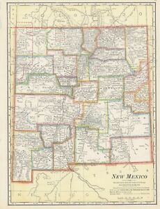 "1900 Cram ""New Mexico"" [Territory]"
