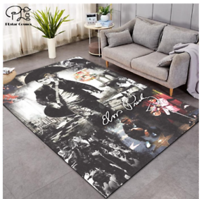 Elvis Presley The King Elegant Bedroom Rug Non Slip Rug Carpet 120 x 180CM  mat