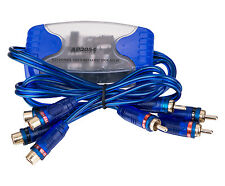 NC SHIPPING Four CH Ground Loop Isolator Audio Curciut Remove Noise Filter 4 RCA