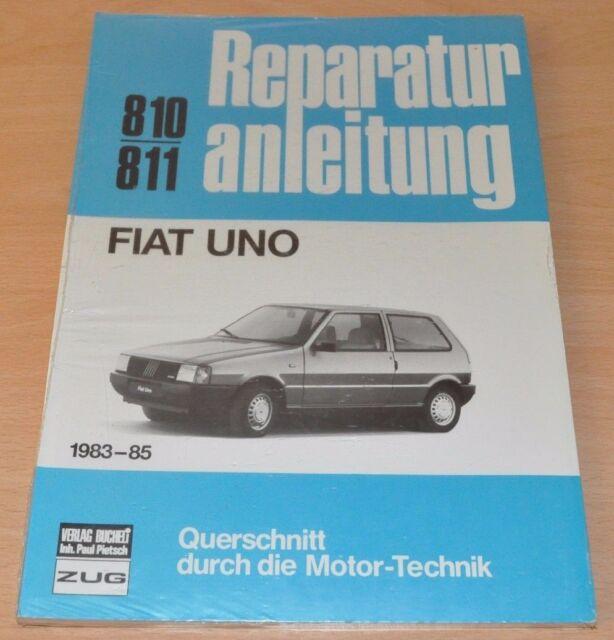 FIAT Uno 1983 bis 1985 Reparaturanleitung B810 Handbuch Bucheli OVP