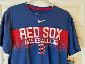 Consistente Mezquita Evaluación  Nike Boston Red Sox de béisbol Camiseta Para Hombres Talla De Camisa Azul M  MSRP $35 Navidad | eBay