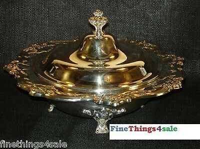 GORHAM SILVER CHANTILLY ExLG FOOTED COVERED TUREEN BOWL ~ SEE OUR OTHER LISTINGS
