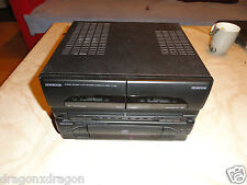 Kenwood X-A3L Stereo Cassette / Kassetten CD Tuner, DEFEKT, erkennt keine CD
