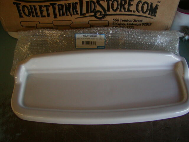 TCU864 ST864 3D Toto TCU864CRP#01 Toilet Tank Lid  #01 White