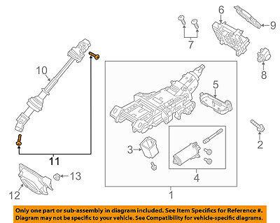 FORD OEM Steering Column-Lower Shaft Lower Bolt W713065S439