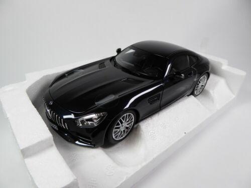 Mercedes Benz AMG GT S 2018 Black Metallic 1:18 Norev MODELLAUTO DIECAST 183497