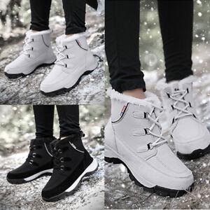Women Tube Warm Cotton Shoes Snow Boots Streetwear Winter Waterproof Warm Size
