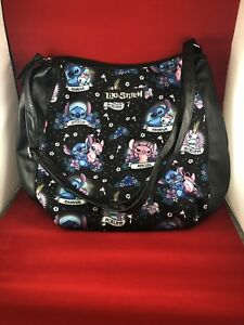 Disney Loungefly Lilo And Stitch Purse Bag Angel Scrump Tattoo Ohana