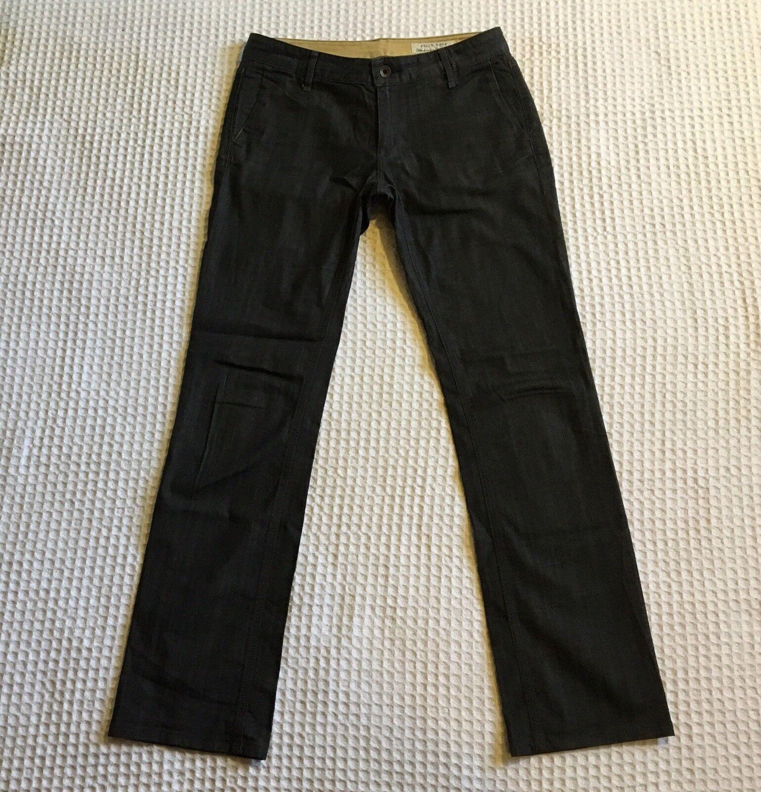 RAG & BONE RBW19 Trouser Style Jeans Trousers Pants  Indigo bluee 28