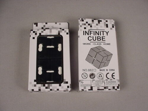 Infinity Cube Fidget Hand Toy NEW in box MIB  USA seller IN Stock Now