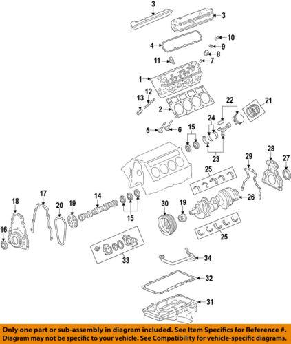 GM OEM-Engine Conrod Connecting Rod 12604857