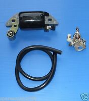 Honda G65 Gs65 Magneto Ignition Coil Condensor Points