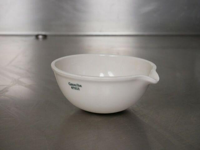 30 mm Height x 80mm OD CoorsTek 60198 Porcelain Standard 80mL Evaporating Dish