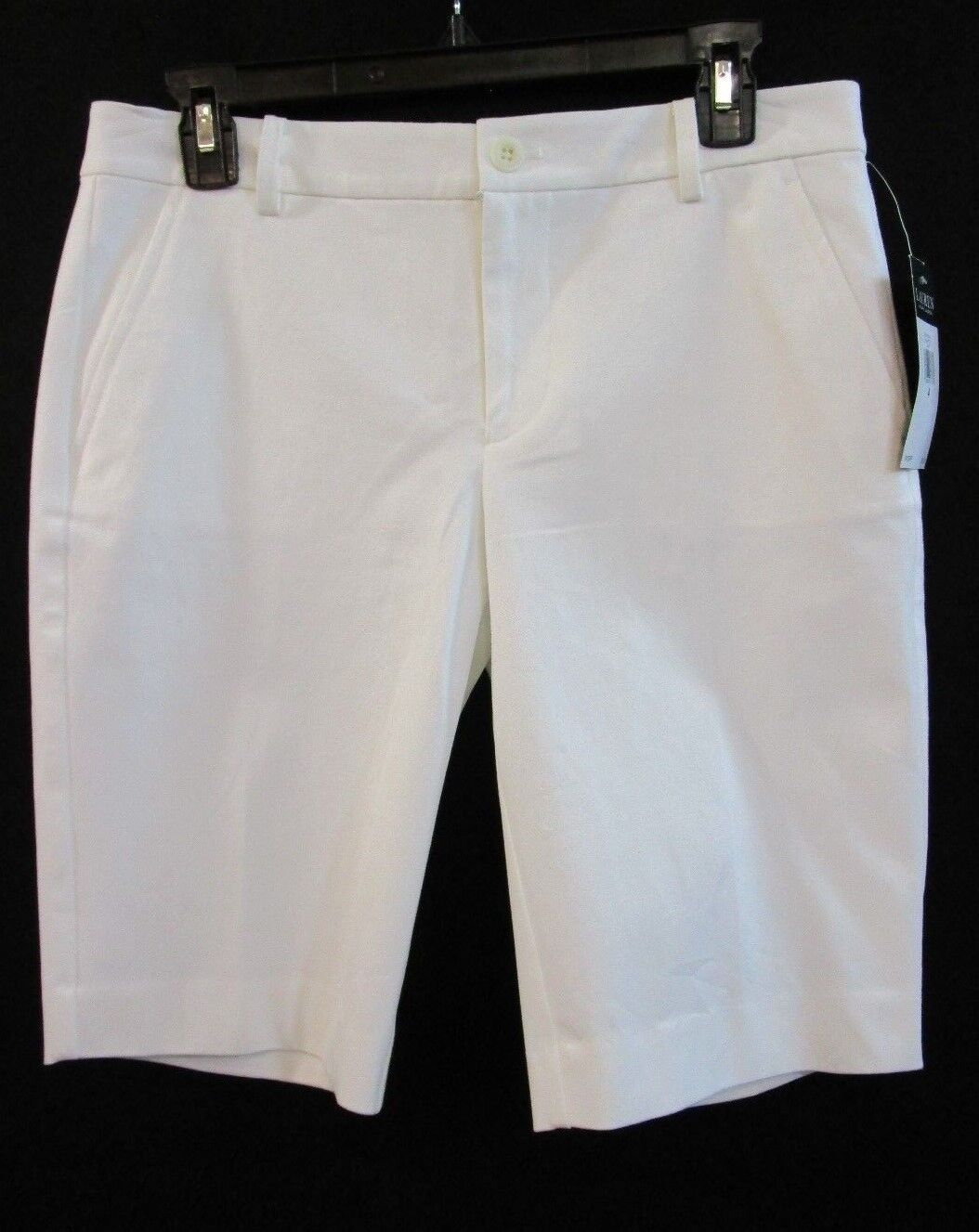Ralph LUREN white SHORT NEW WITH TAG SZ 4  new with tag
