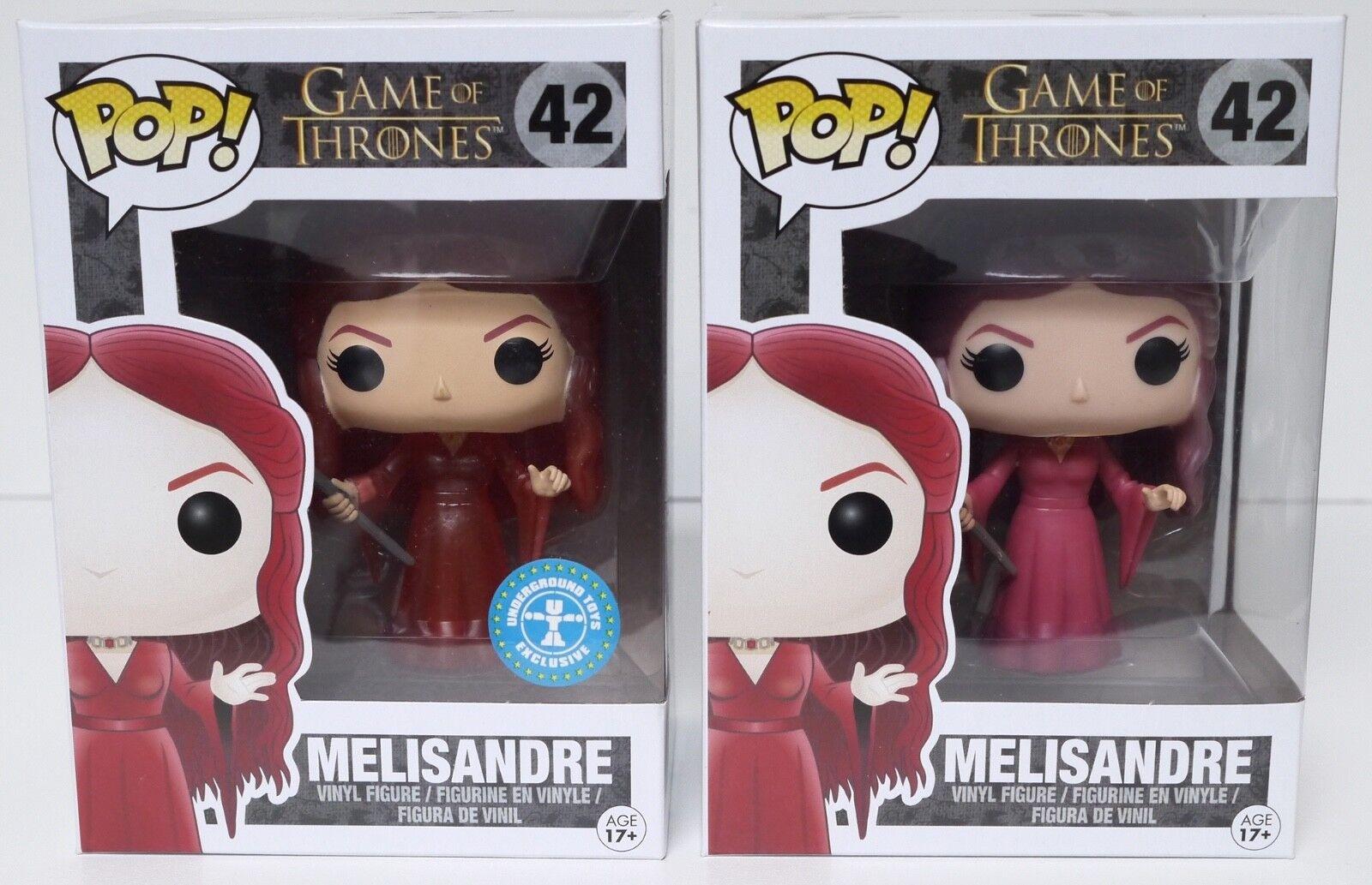 Pop Funko Game Of Thrones Melisandre  42+Melisandre  42 Translucent Ltd Edition