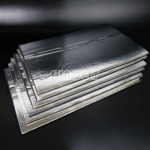 6x Car//Van Glass Fibre Sound Proofing Deadening Insulation 10mm Closed Cell Foam