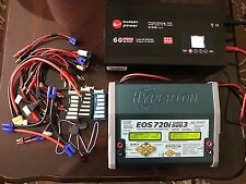 Hyperion EOS 720i Super DUO3 Battery Charger Lipo NiMH w/ 1500 watt Power Supply