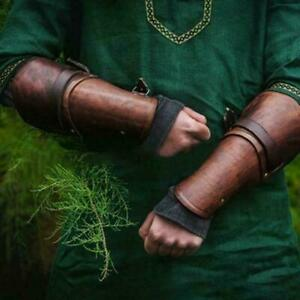Leather Arm Guard Bow Hand Glove Archery Bow Hand Arm Protector for Hunting
