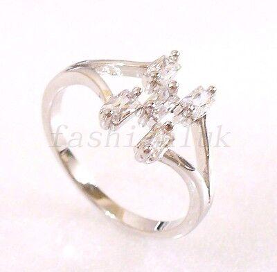 Stunning 1.00 CT Heart Shape Simulated CZ Diamond 14k Black Gold Finish Flower Look Cute Engagement /& Wedding Ring Womens