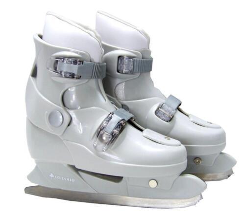 CP Ontario Schlittschuhe FIGURE Kinder 33 = 36 verstellbare Iceskate Skates